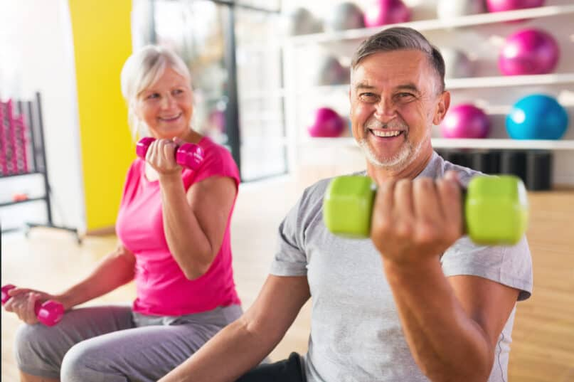 How to Stop Gaining Weight While Aging