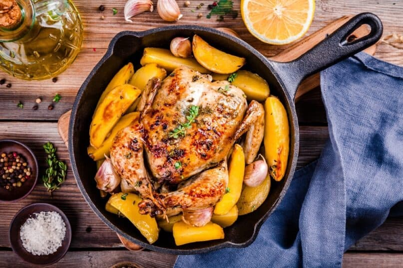 The Health Benefits of Cooking in Cast Iron