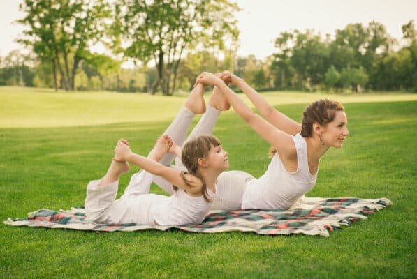 25 At-Home Workouts to Try With the Kids